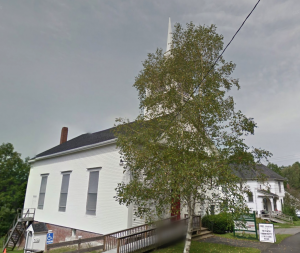 Waldoboro United Methodist Church (side view), 85 Friendship Street (Route 220), Waldoboro, Maine)